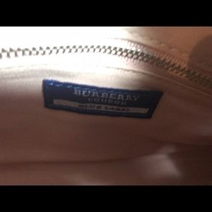 Burberry Bags - Authentic Burberry cream Boston bowler bag